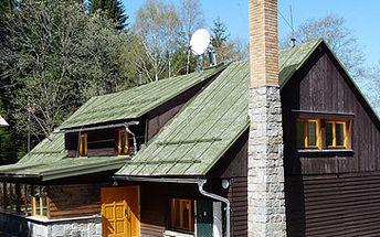 Relaxační pobyt pro 2 osoby na 3 dny (2 noci) včetně snídaně na chatě Papajucha v Jeseníkách za skvělých 1199 Kč!