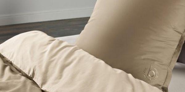 Elegantní, kvalitně zpracované ložní prádlo BUGATTI povlečení 4939 písková