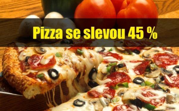 Sleva na PIZZY, TĚSTOVINY, DEZERTY, polévky, předkrmy a další jídla v Pizzerii ANTICA v centru Plzně!!.