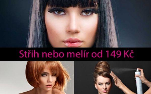 Profesionální kadeřnictví: střihání či melír od 149 Kč, barvení vlasů od 169 Kč v kadeřnictví Michelská přímo u metra Kačerov.!!