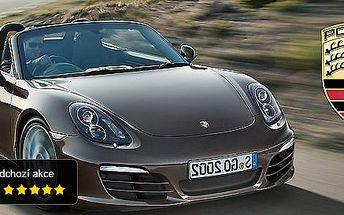 Adrenalinová jízda luxusním roadsterem Porsche