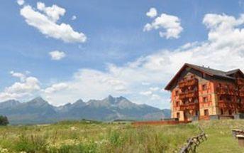 To nejlepší ubytování ve VYSOKÝCH TATRÁCH na SLOVENSKU! 3denní nebo 7denní pobyt v luxusních apartmánech v Tatragolf Mountain Resorts****