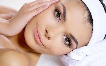 Luxusní kosmetické ošetření obličeje, krku a dekol...