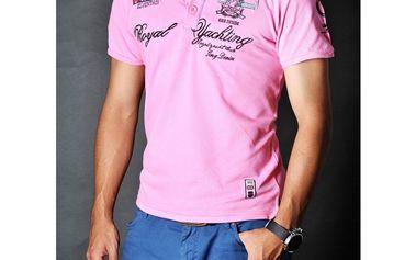 Pánské polo triko Pontto růžové