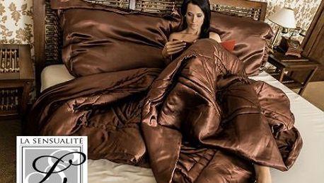 Set luxusního saténového povlečení se slevou 77 %!