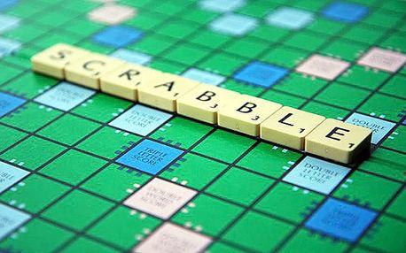 Společenská hra Scrabble včetně poštovného