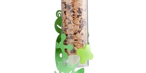 Dávkovač na cereálie Žába - Napadlo by vás, že by se müsli mohlo stát dominantou vaší kuchyně?