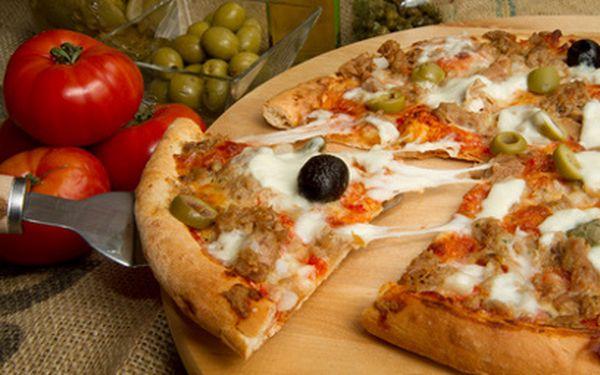 2 x pizza za 109 Kč! Výběr z 8 druhů!