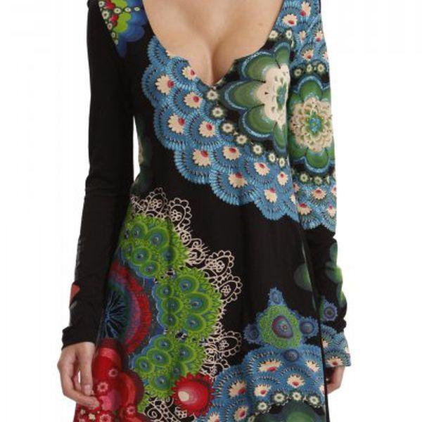 Elegantní dámské šaty Desigual 37T2422_2000_aw černá