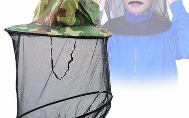 Klobouk s ochrannou sítí proti hmyzu a poštovné ZDARMA! - 229