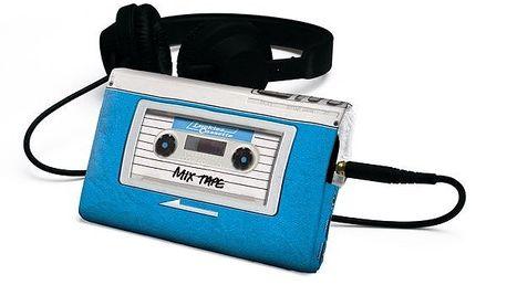 Cestovní obal na telefon/MP3 přehrávač Audio Retro