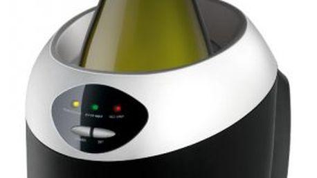 SENCOR Chladič na víno a šampaňské (SWC 5050). Pružný silikonový lem zabraňuje úniku chladu.