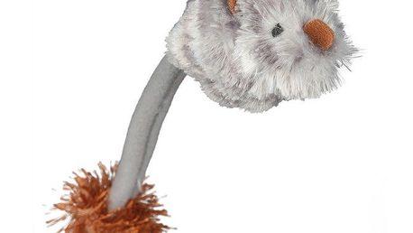 Plyšová myš se zvukem a světlem