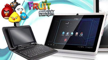 Ultratenký tablet ANGRY BIRDS s Androidem s poštovným zdarma