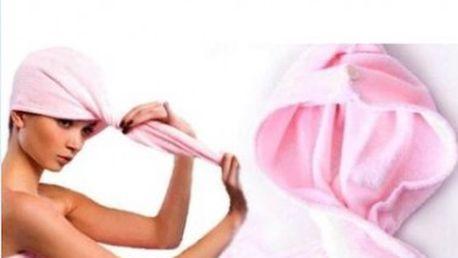 Ženy tuto osušku oceňují nejen pro jednoduchou manipulaci. Speciální střih zaručí plné pokrytí a díky vysoké savosti významně urychlí dobu sušení vlasů.