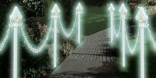 Svítící plot - S tímto svítícím plotem bude vaše zahrada zářit i v noci