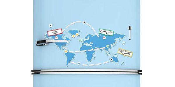 Magnetická mapa světa