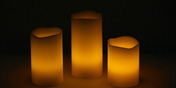 Luxusní LED svíčky - užijte si romantický večer na terase i když fouká vítr!