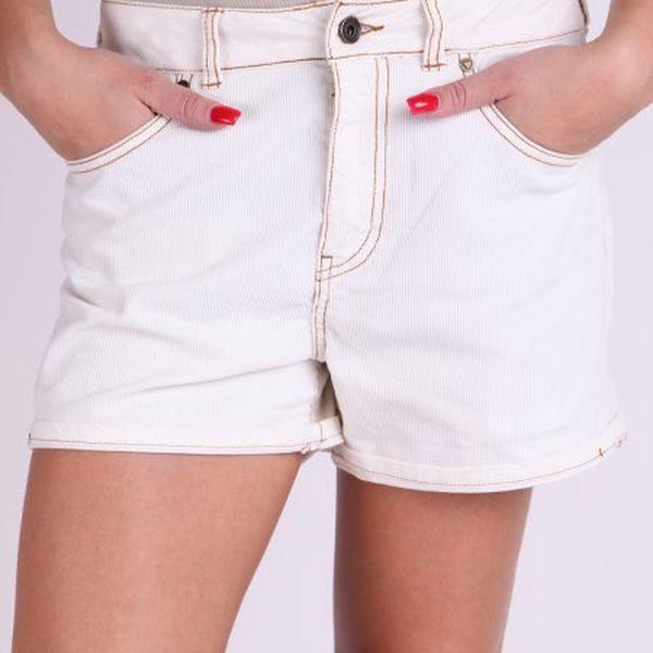 Luxusní dámské kraťasy Guess Kraťasy W1MRO_002, bílá