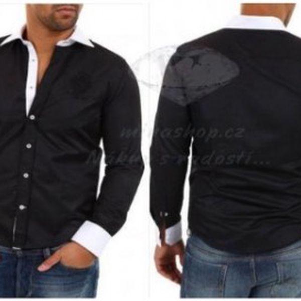 Carisma POLO košile černá velikost - L XL