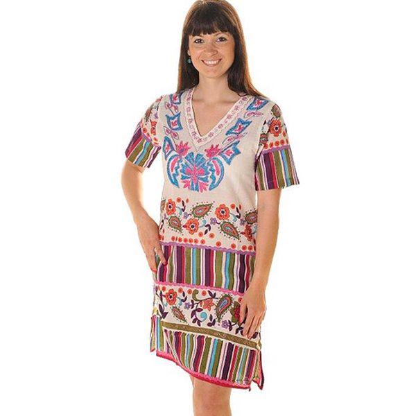 Bavlněné šaty Indiana