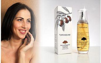 Báječných 295 Kč za marocký arganový olej. Tento výživný a pečující olej ozdraví nehty, vlasy a pleť. Doručení po ČR zdarma!
