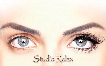 """PRODLOUŽENÍ ŘAS metodou """"řasa na řasu"""" za pouhých 479 Kč! Šetrná a precizní aplikace značkou Blink Lashes a Smart Lashes zajistí Váš svůdný pohled a přitom zachová přirozený vzhled! Nepromeškejte slevu 68% Studia Relax!"""