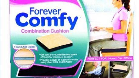 Forever Comfy gelový polštář - uleví od bolesti zad z neustálého sezení v práci!