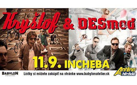 KRYŠTOF A DESMOD v Bratislavě 11. 9. 2013