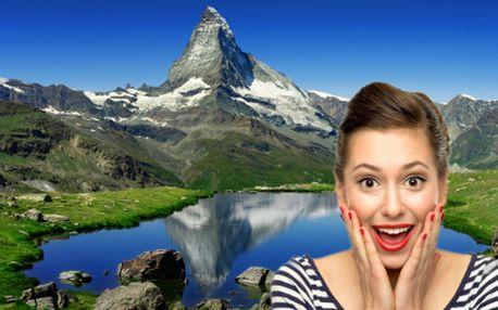 Magický Matterhorn a Zermatt za 85 Eur!