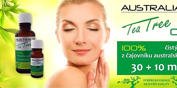 100% Australian Tea Tree Oil 30 + 10 ml