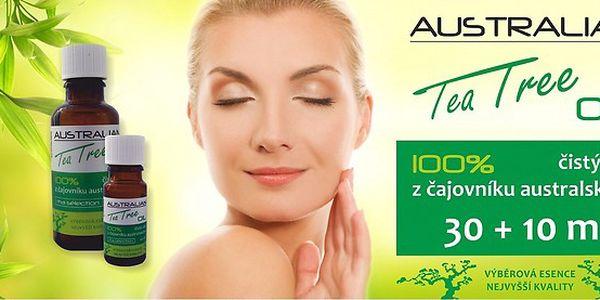100% Australian Tea Tree Oil 30 + 10 ml