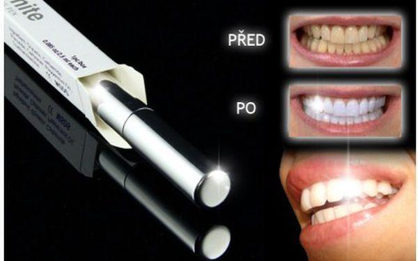 Dopřejte si stejně kvalitní bělení jako u zubaře za zlomek ceny! Pouhých 249 Kč za pero na bělení zubů, které bezpečně a účinně odstraníte všechny skvrny na vašich zubech. Testováno americkou lékařskou komorou.
