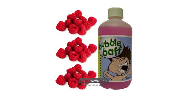 Malinové bublinky do koupele pro děti i dospěláky!