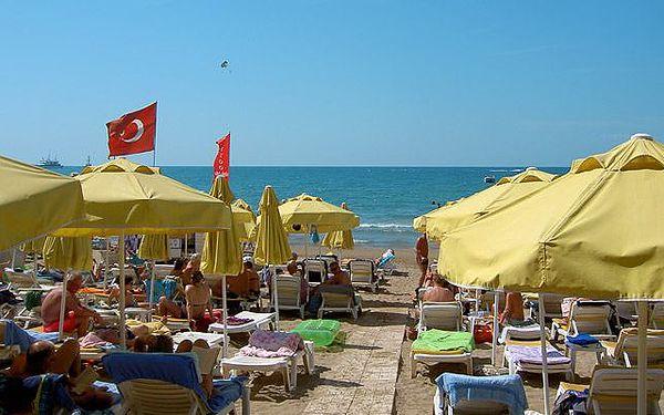 Letecky do Turecka, Side. 12 dní s polopenzí v krásném hotelu Sun Beach. 23% sleva! Kvalita Invia
