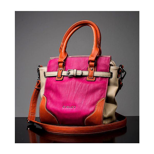 Růžovo-oranžová kabelka Jossy