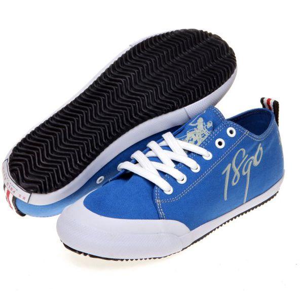 Moderní pánské plátěné tenisky U.S. POLO ASSN. Dexter_Blue, modrá