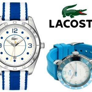 Trendy dámské nebo unisex hodinky od značky Lacoste!