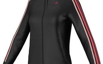 Propínací dámská mikina Adidas SF 3S PES TT Black/Joy