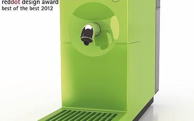 Kávovar UNO Apple Green - 'Best of the Best' v prestižní designové soutěž Reddot Design Award.