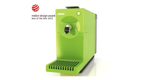 Kávovar UNO Apple Green - 'Best of the Best' v prestižní designové soutěž Reddot Design Award.