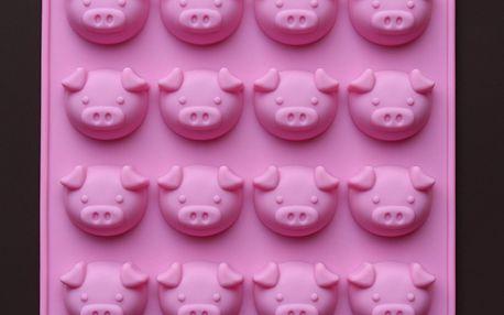 Forma na led/čokoládové pralinky ve tvaru prasátek a poštovné ZDARMA! - 232