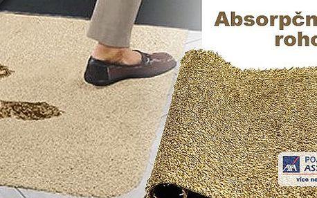 Chcete, aby vaše podlaha zůstala vždy čistá? Řešením je rohožka Clean Step je vysoce savá rohožka ke dveřím, která skvěle očistí vaše boty i od těch nejhorších nečistot