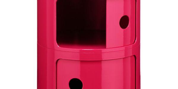 Stolek Cabinet Pink