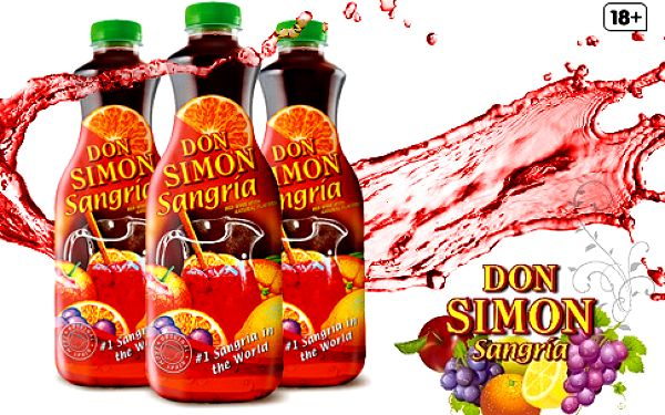 Sangria Don Simon 1,5 l – 3 lahve