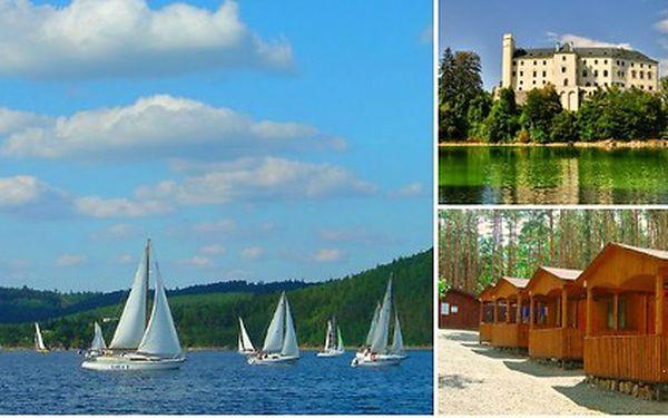 Rekreační středisko Radava - ubytování v chatách a karavanech přímo na břehu Orlické přehrady