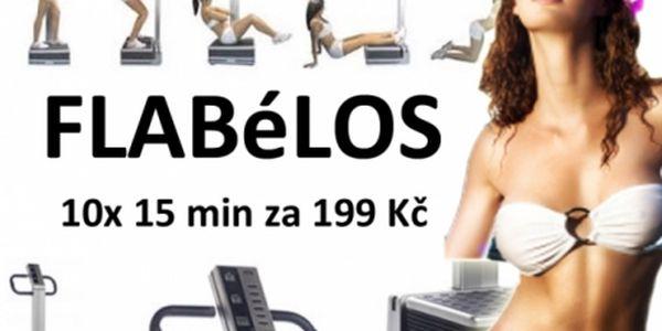 10x15 minut PERMANENTKA na vibrační plošinu FLÁBELOS! 15 min. cvičení Flabélos = 1 hod. tréninku v posilovně. Centrum Prolinebody v centru Brna!