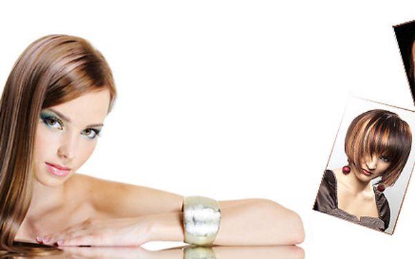 Melír, střih, mytí vlasů, regenerace a závěrečný styling