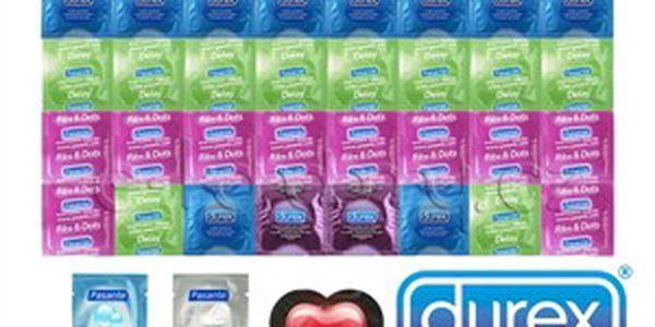 Letní balíčky kondomů - s kvalitou od firem Durex a Pasante vždy zaskórujete!