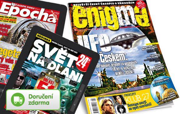 Předplatné časopisu Enigma + bonusy